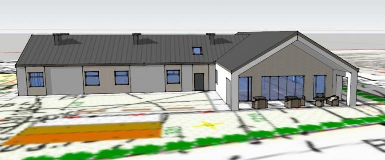 Nowy obiekt w Gminie - Centrum Opiekuńczo Mieszkalne Kliknięcie w obrazek spowoduje wyświetlenie jego powiększenia